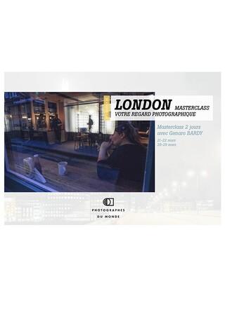 Couverture carnet de voyage photo London Masterclass avec Genaro Bardy