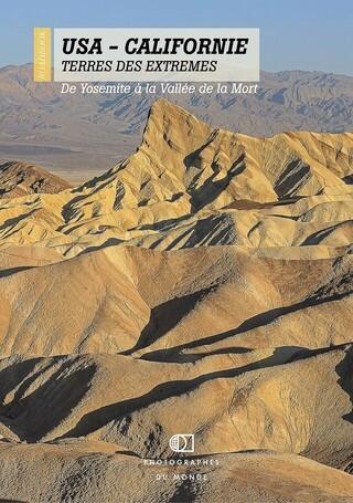 Couverture carnet de voyage photo Californie avec Pascal Ducept