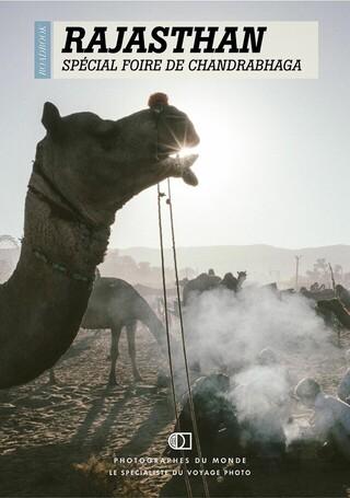 Couverture carnet de voyage photo Rajasthan Chandrabagah avec Axel Coeuret