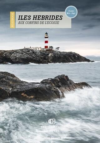 Couverture carnet de voyage photo Ecosse Hebrides Aout avec Jean-michel Lenoir