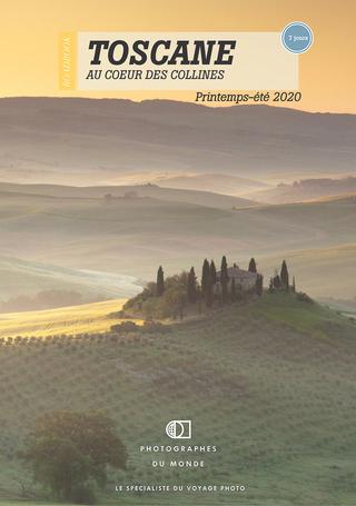 Couverture carnet de voyage photo Toscane Eté avec un pro