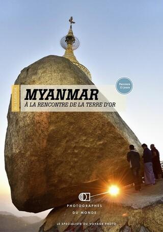 Couverture carnet de voyage photo Birmanie Classique avec Christophe Boisvieux
