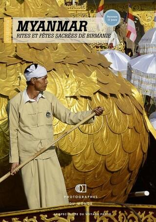 Couverture carnet de voyage photo Birmanie Fêtes 12j avec Christophe Boisvieux