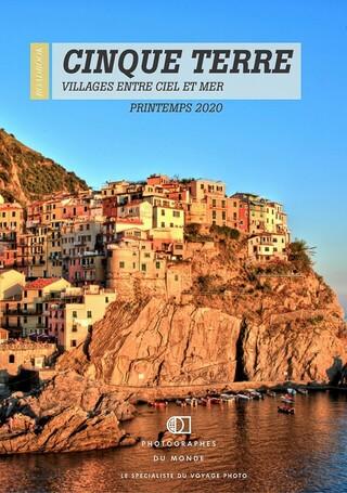 Couverture carnet de voyage photo Cinque Terre avec un photographe pro