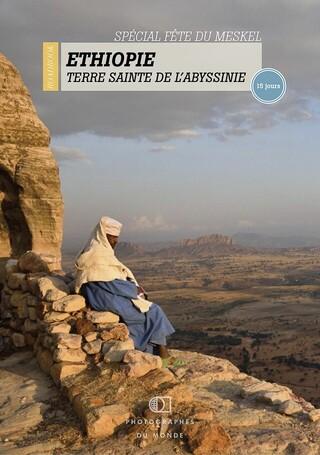 Couverture carnet de voyage photo Ethiopie Meskel avec Christophe Boisvieux