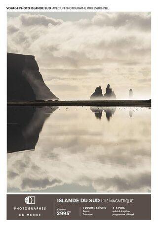 Couverture carnet de voyage photo Islande Sud eté avec Gregory Gerault