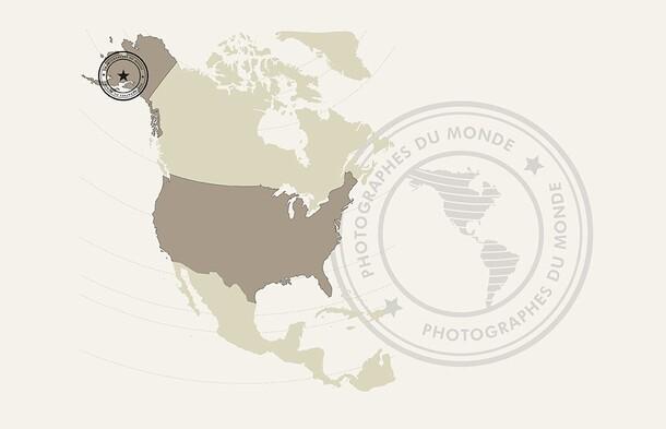 carte voyage photo Alaska