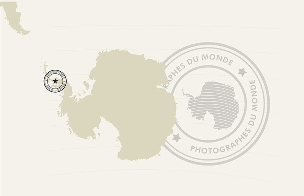carte antartic
