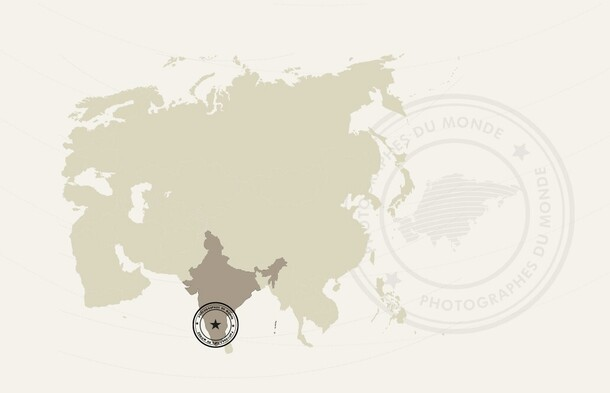carte voyage photo inde du sud