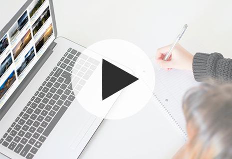 cours en ligne visuel